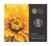 2009 50p Kew Gardens Brilliant Uncirulated Coin Pack